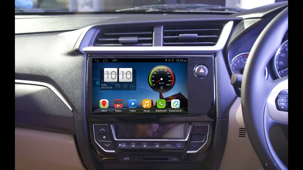 alien unboxing & installation amaze ,brio ,mobilio & br-v android car  infortainment system by honda
