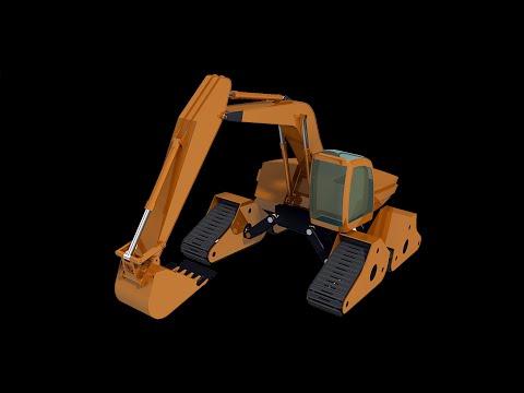 Catia Assembly Excavator 카티아 굴삭기