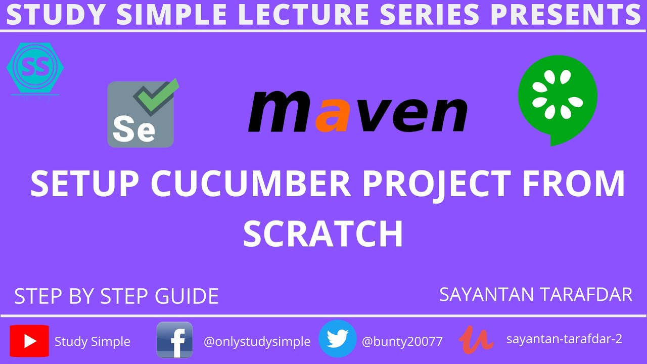 Download How To Setup Maven Project For Cucumber and Selenium Cucumber configuration Using Selenium Webdriver
