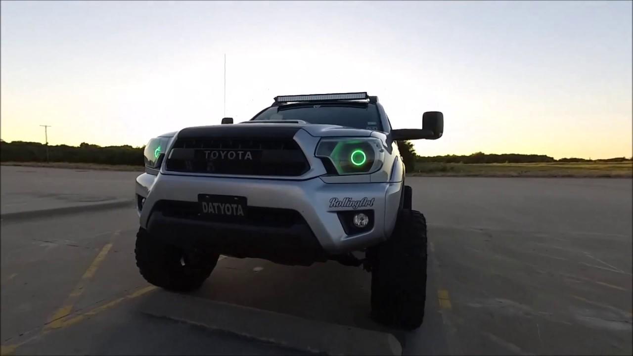 2012 toyota tacoma 6.5in lift kit MaxTrac custom - YouTube