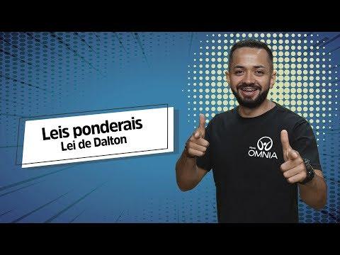 Lei De Dalton   Leis Ponderais - Brasil Escola
