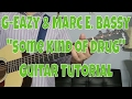 """G-Eazy Ft. Marc E Bassy - """"Some Kind of Drug"""" How to Play Guitar (Easy!! Guitar Tutorial!!) video & mp3"""