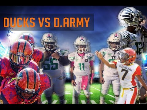 Atlanta Ducks 8U vs Decatur Army 2016