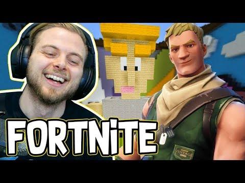 FORTNITE!! - Minecraft Build Battles! W/AshDubh
