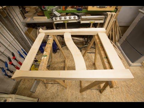 Meuble en bois et plastique : la structure 1/2