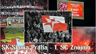 SK Slavia Praha - 1. SC Znojmo děkovačka
