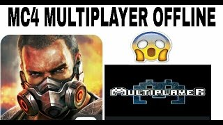 How to Play Modern Combat 4 Multiplayer (Offline) using Superbeam | 100% Working |