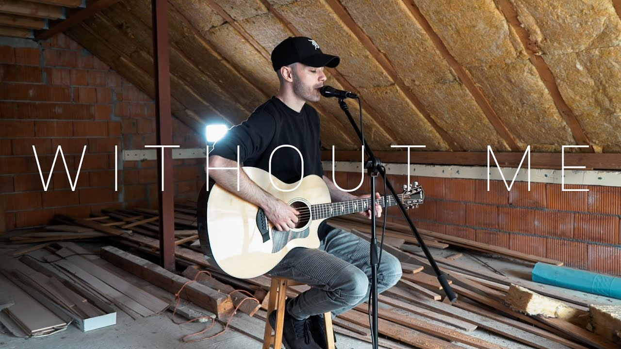 Halsey - Without Me (Acoustic Cover by Dave Winkler)