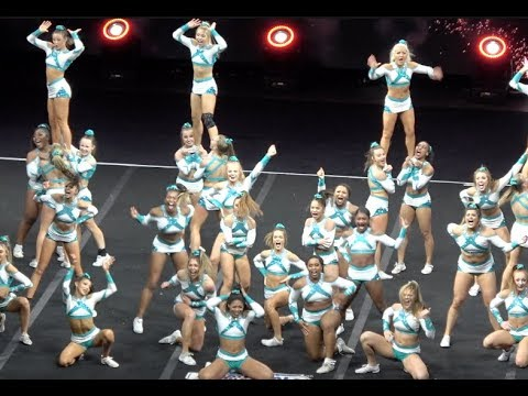 Sr Elite HITS Day 2 NCA ~ LISTEN TO THE CROWD SING ~ EPIC!!