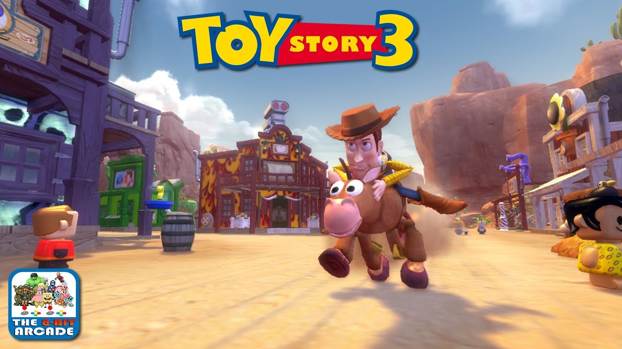 Scarecrow Toy Story 3 Game : Toy story the video game box hijinks with woody