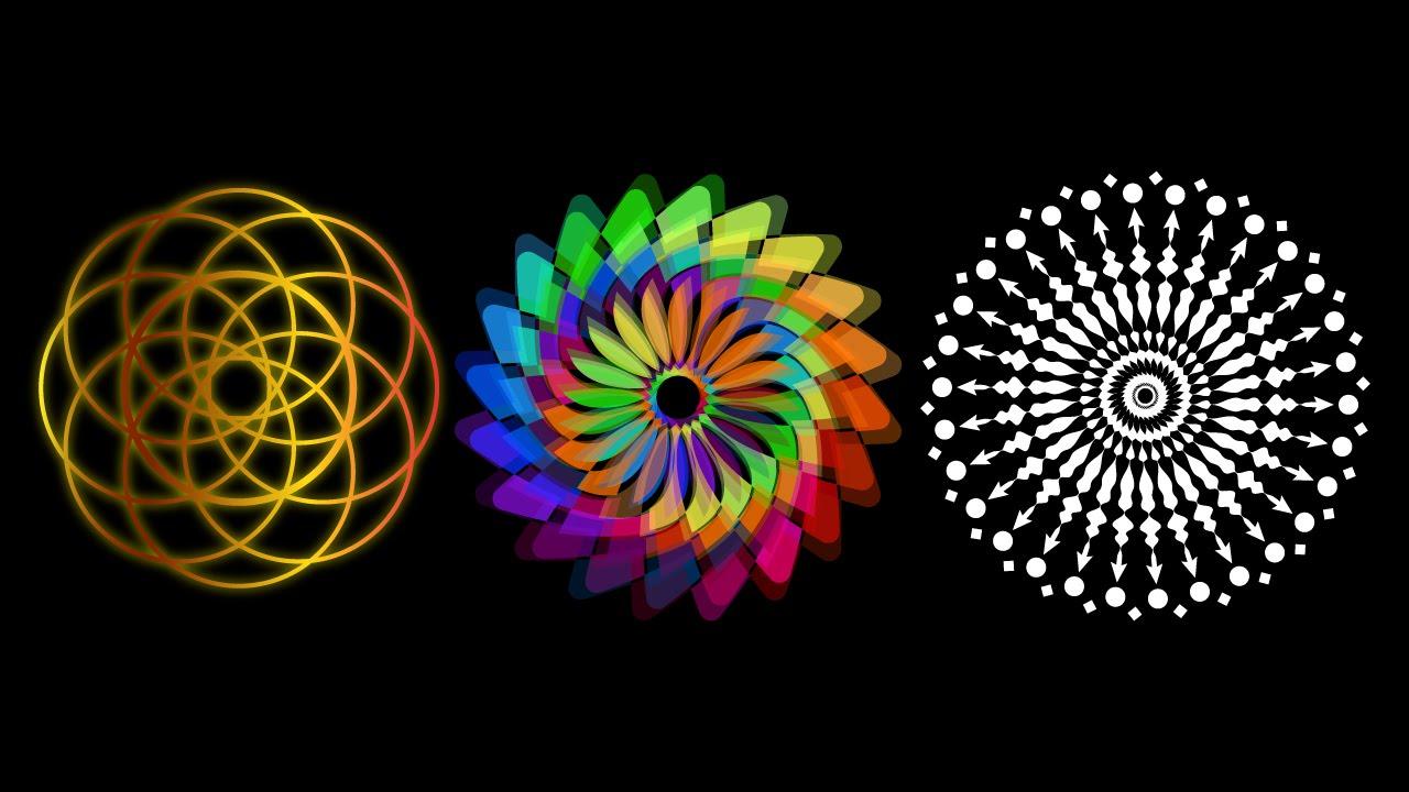 dise os geometricos illustrator youtube