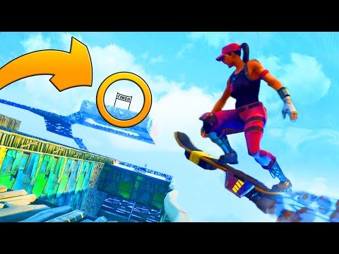 WORLD'S BEST HOVERBOARD RACE TRACK | Fortnite Save The World