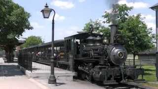 Greenfield Village, Locomotive & Train - Dearborn, Michigan, USA