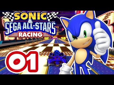 Sonic & Sega All Stars Racing #01 [XBox 360 | Expert] – Chao Cup