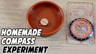 How to Make a Homemade Compass