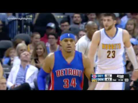 Detroit Pistons vs Denver Nuggets   Full Game Highlights   November 12, 2016 17 NBA Season