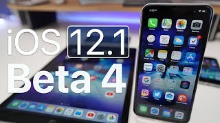 iOS 12.1 Beta 4 - What's New?