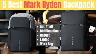 5 Best Mark Ryden Backpack Review | Anti theft, Multifunctional, Waterproof, Gadget, laptop Backpack