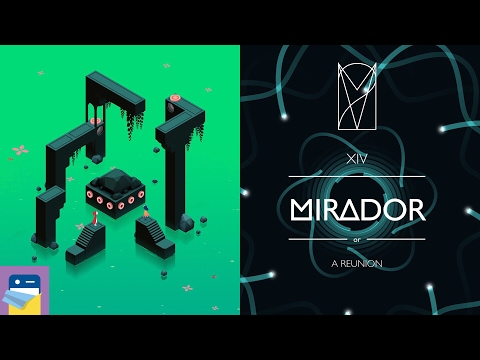 Monument Valley 2: Chapter 14 (XIV) MIRADOR Walkthrough & Gameplay (by Ustwo Games)
