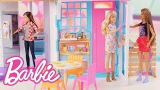Barbie Malibu House Playset Demo Video   Barbie