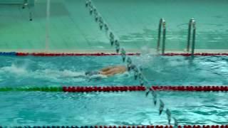 """""""Всероссийские соревнования по плаванию среди юношей и девушек (25м)"""", 100m Вольный стиль, Предв."""