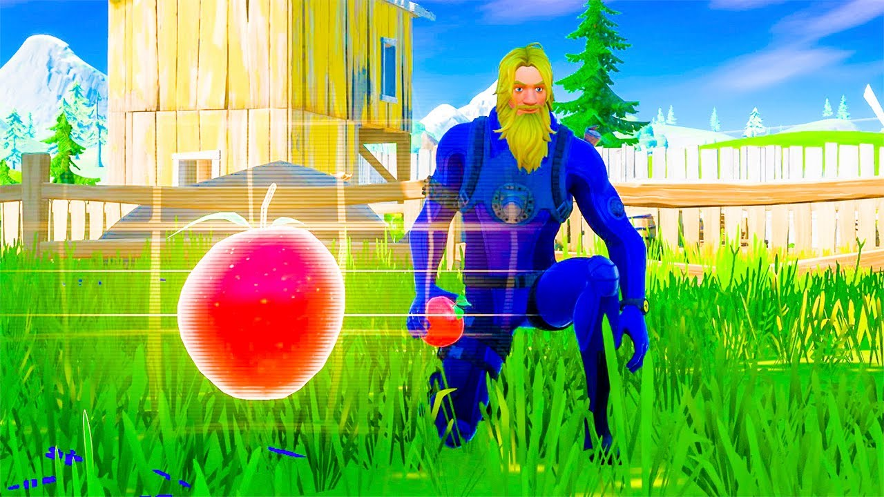 Gather or Consume Foraged Items at The Orchard Fortnite ...