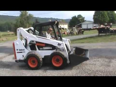 2014 Bobcat S530 Rubber Tired Skid Steer Loader 49HP Turbo Diesel For Sale