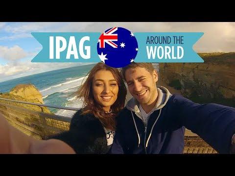 Expat'IPAG 🇦🇺 Australia, Melbourne: Narina & Valentin / Internship
