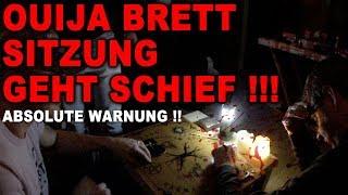 Ouija Brett Sitzung GEHT SCHIEF !!! Warnvideo !!