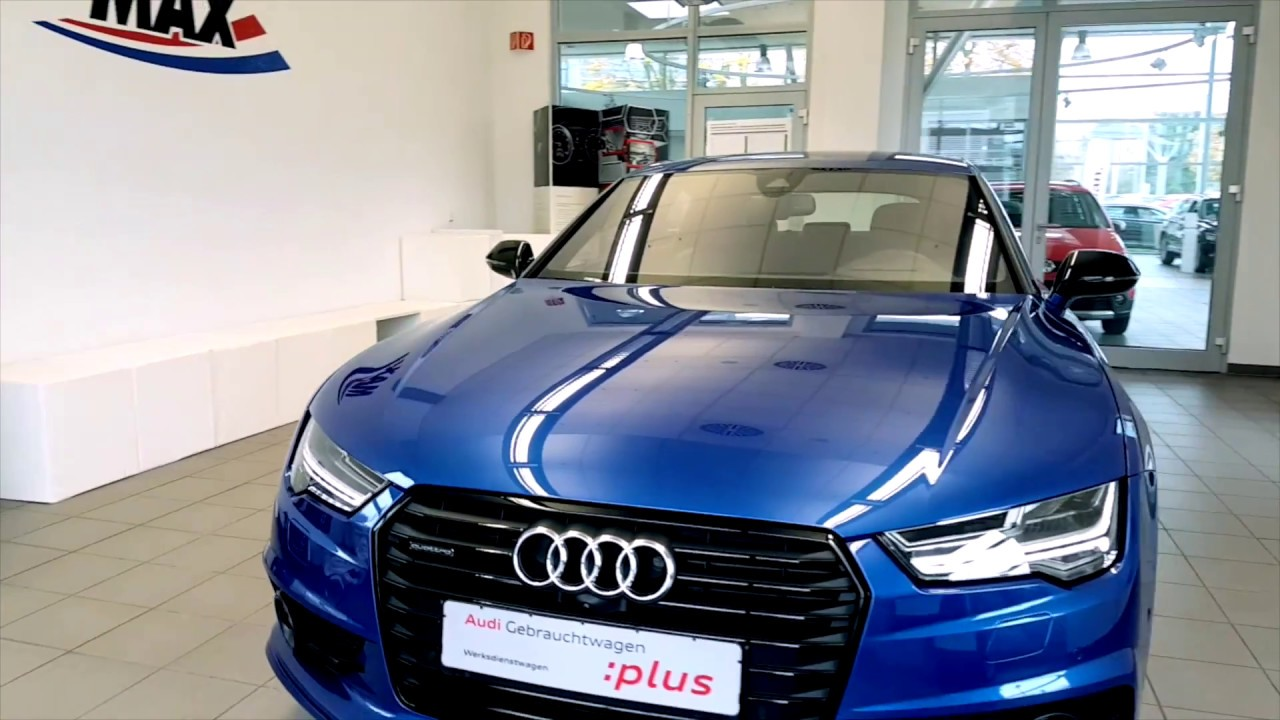 audi a7 sportback competition bei autohaus max in offenbach youtube. Black Bedroom Furniture Sets. Home Design Ideas