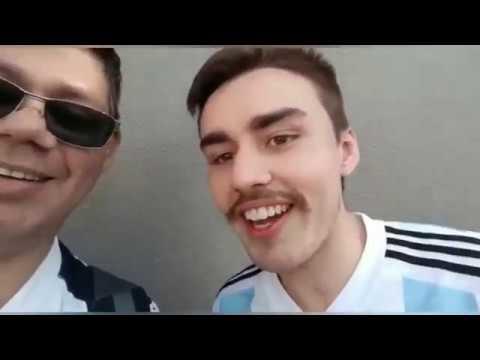 Junto a la selección Argentina en la Copa América