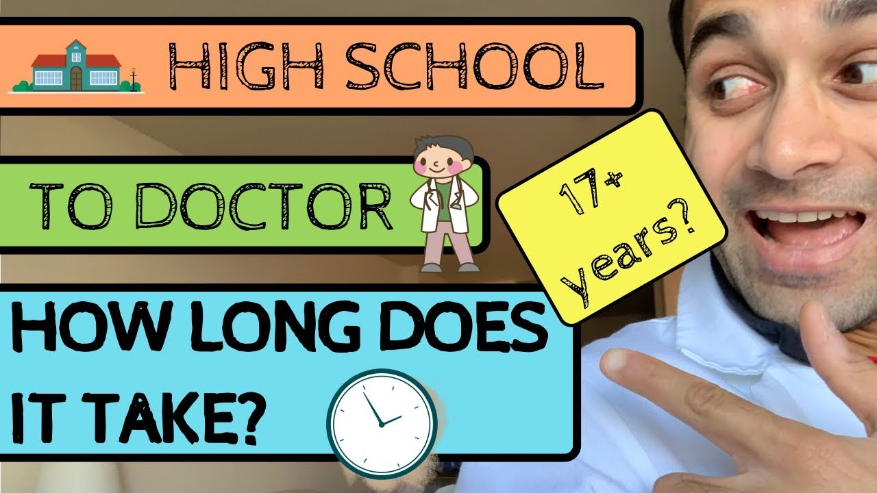 how long does it take to become a dr