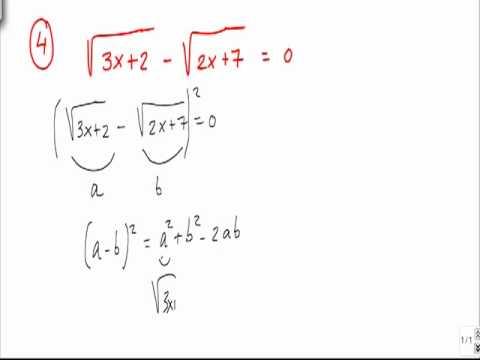 Ejercicios Y Problemas Resueltos De Ecuaciones Con Radicales Problema 4 Youtube