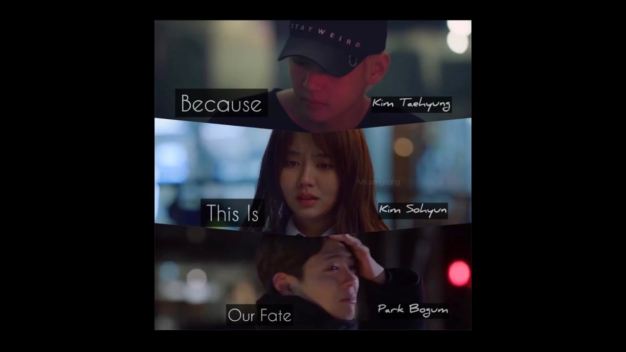 BTS Kim Taehyung | Kim Sohyun | Park Bogum (Because This Is Our Fate| Trailer 3)