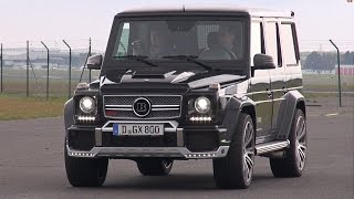 BRABUS G 800 V12 Widestar Designo - Acceleration Sounds!