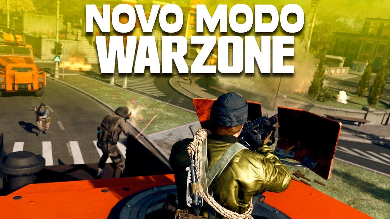 O NOVO MODO do CoD WARZONE: ESCOLTA, o modo GUERRA do WW2!