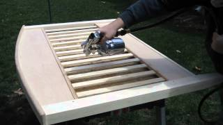 Finishing A Crib Headboard With A Fuji Hvlp System