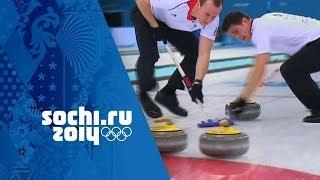 Curling - Men's Tie-Breaker - Norway v Great Britain | Sochi 2014 Winter Olympics