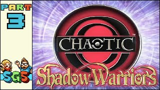 Chaotic: Shadow Warriors | XBOX 360 | PART 3: Buns Made of Physics | Super Gaming Sibs