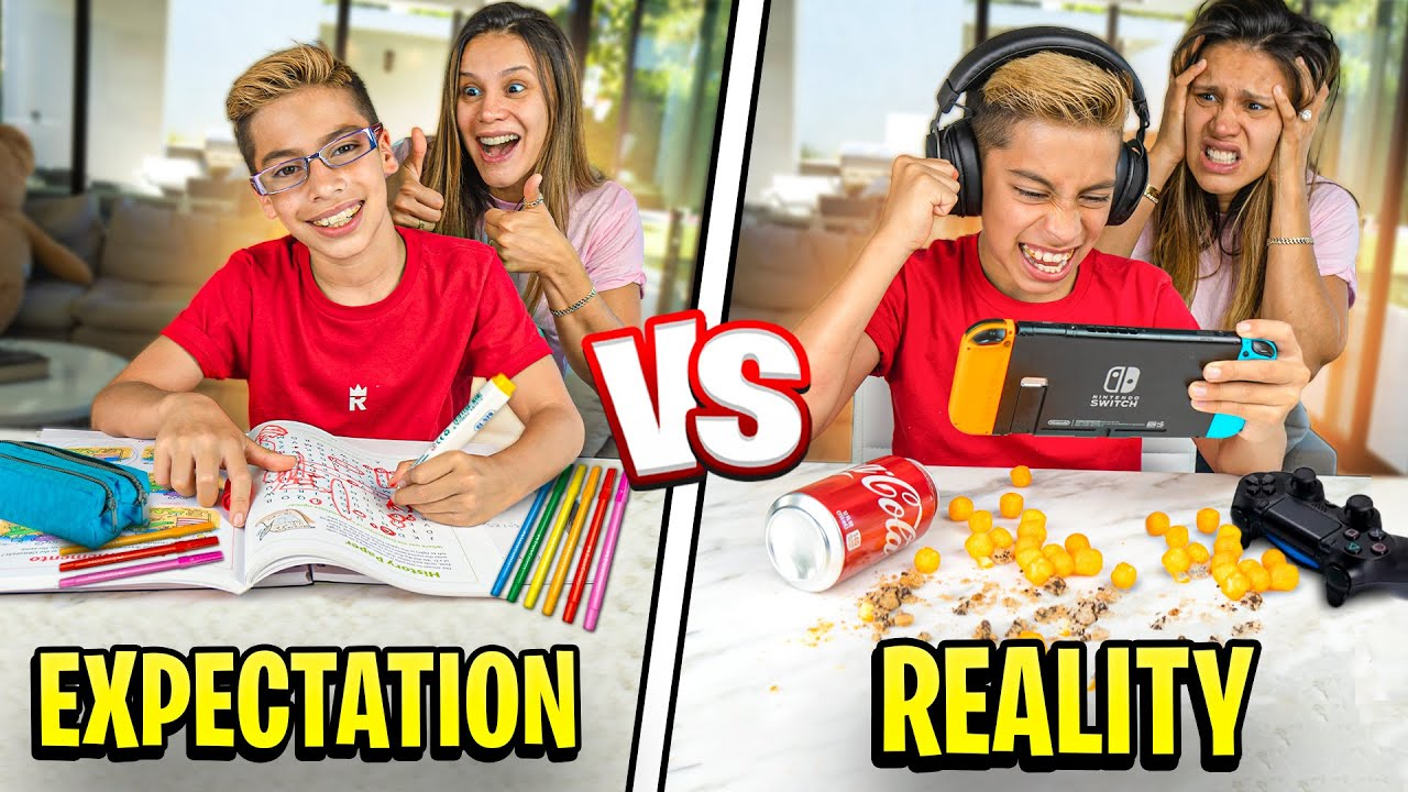 EXPECTATIONS Vs REALITY of Our SON! 😂 | The Royalty Family