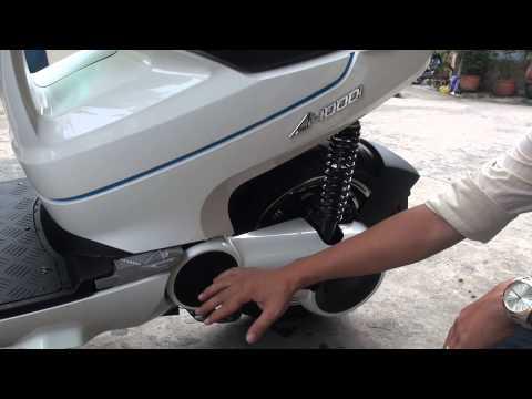Đánh giá xe máy điện Terra Motors A4000i