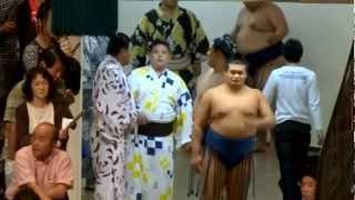 谷川親方(北勝力)の引退相撲で撮影してきた映像のうち、 九重部屋力士...