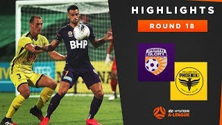 Highlights: Perth Glory v Wellington Phoenix – Round 18 Hyundai A-League 2019/20 Season