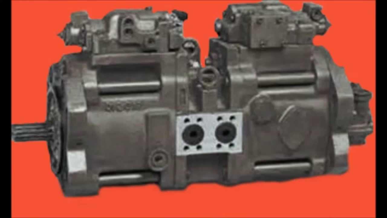 Kawasaki Hydraulic Pump Repair - YouTube