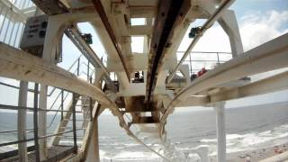 Great Noreaster POV Roller Coaster Morey's Piers Wildwood New Jersey Shore