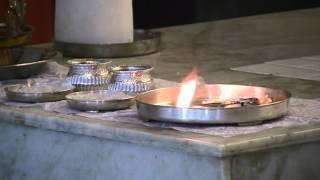 Arathi to Shirdi Baba in the Shiva Sai Mandir, Penukonda
