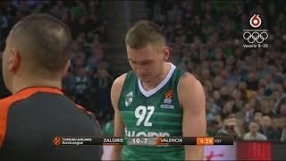 Eurolyga  Zalgiris vs Valencia Basket  2018 01 18