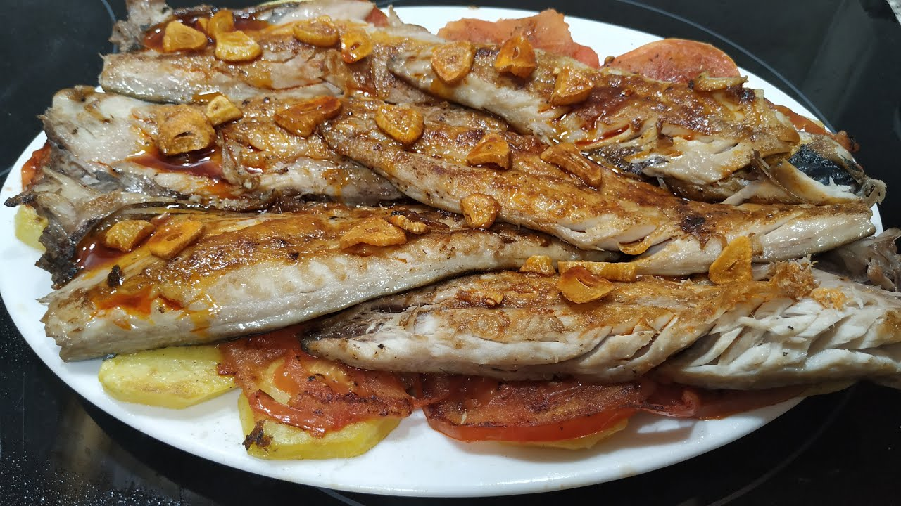 Filetes De Caballa A La Plancha Youtube