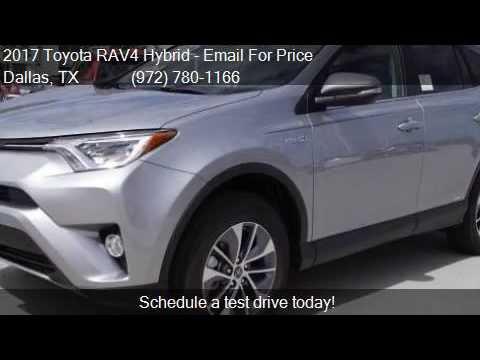 2017 Toyota RAV4 Hybrid XLE AWD 4dr SUV for sale in Dallas,