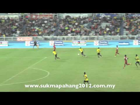 Aksi Menarik Sabah Menewaskan Perak Pada Perlawanan Bola Sepak Peringkat Akhir 14/7/2012